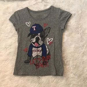 texas rangers shirt